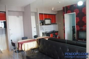 Dijual Apartemen Pakubuwono Terrace 2 BR Semi Furnished AG818