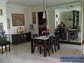 Apt Grand Permata Tower A Lantai 16, Full Furnished, City View
