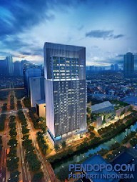 Apt Sudirman Suites Tower A Lantai 15, City View, 3 KT