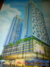 Apt Palm Regency Tower South Lantai 11, Hunian Exclusive Diatas Mall