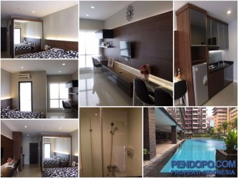 Apt Taman Sari Semanggi, furnished, Lt22