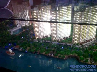 Apt Pluit Sea View Tower B Lantai 8, Lokasi Strategis