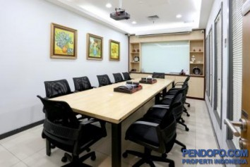Serviced Office for 1-8 staff at South Jakarta Office Building