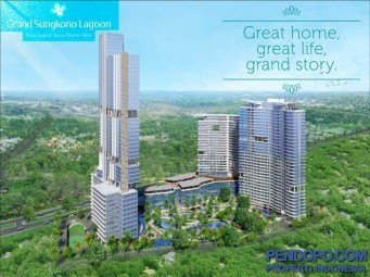 APARTEMEN DIJUAL : Modern Stylish Apartment with City View @ Grand Sungkono Lagoon Surabaya.