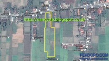 Great Vacant Land Commercial for Sale @ Gresik - Kedungpring - Jalan Raya Balongpanggang