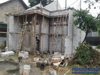 Tanah 177 m2 Kalimulya Depok (bisa dibeli 77 m2 dan 100 m2)