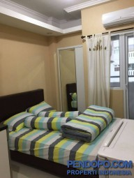 Sewa Harian/Bulanan Apartemen Studio Full Furnish Green Pramuka City