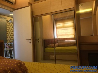 Apartemen studio /2BR Sewa hari/bulan/tahunan, full furnished free maintenance