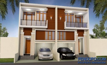 Rumah Baru Menzanine cantik elegan Cluster nyaman di Jagakarsa 900 an juta