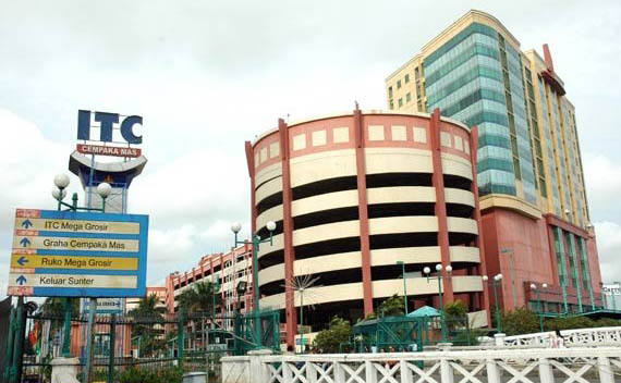 Di Sewa Toko di ITC Cempaka Mas Jakarta Utara