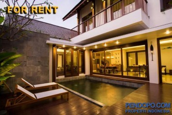 Di Sewakan Villa Modern 3 Bedroom Full Furnish di Jl. Mertanadi Kerobokan Bali