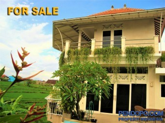 Di Jual Villa Luxury 4 Bedroom Full Furnish di Buduk Dalung Bali