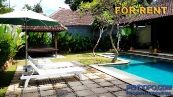 Di Sewakan Villa Modern Full Furnish 2 Bedroom di Jl. Beraban Kerobokan