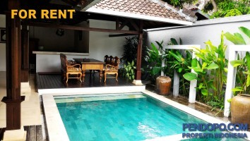 Di Sewakan Villa Modern Full Furnish 3 Bedroom di Jl. Beraban Kerobokan