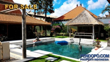 Villa Luxury For Sale 5 Bedroom Full Furnish at Kerobokan Bali