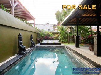 Villa Luxury For Sale 3 Bedroom Full Furnish at Jl. Drupadi Seminyak Bali